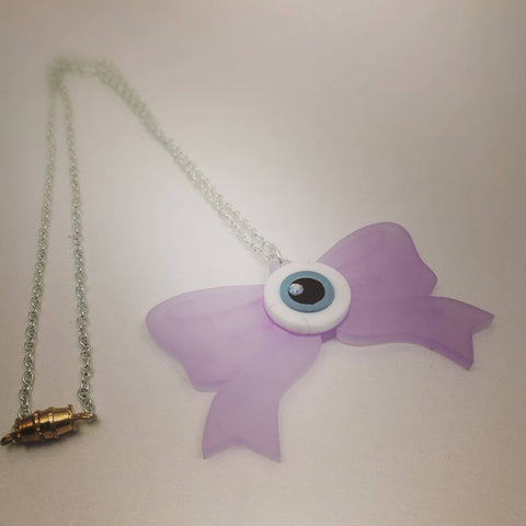 Eye bow Pendant -- Handmade Jewelry