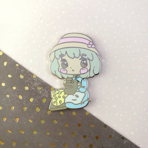 Sophie - Hard Enamel Pin -- Ghibli Snacks Collection - Kittynaut