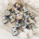 Emperor Shiba Inu: Girl's Day Animal Enamel Pins - Kittynaut