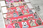 Girls Day : Sticker Sheets - Kittynaut