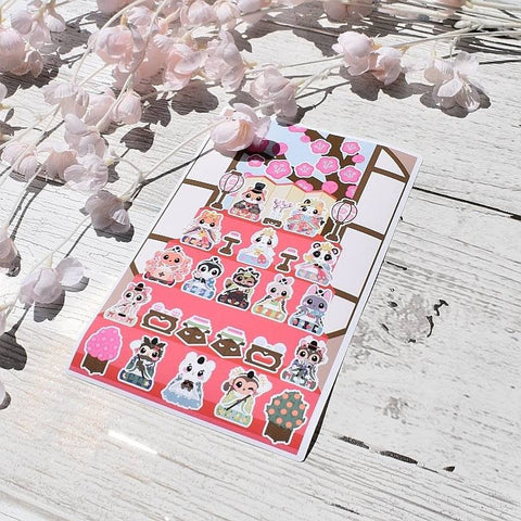 Girls Day : Sticker Sheets