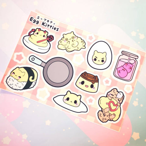 Egg Kitties : Sticker Sheets