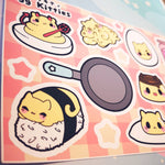 Egg Kitties : Sticker Sheets - Kittynaut