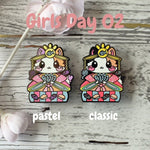 Empress Kitty: Girl's Day Animal Enamel Pins