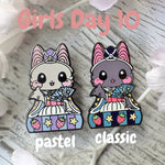 Musician Bat: Girl's Day Animal Enamel Pins - Kittynaut