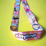 Egg Kitties: Lanyard - Kittynaut