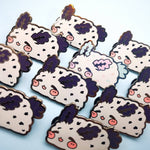 Sea Bunny - Hard Enamel Pins - Oreo or Birthday Cake - Kittynaut
