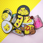Hard Boiled Angry Cat - Egg Kitties  - Hard Enamel Pins Series - Kittynaut