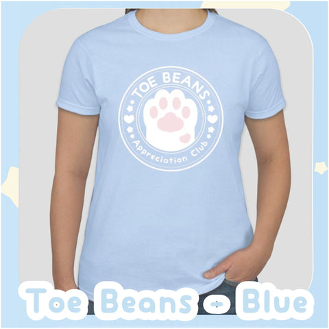 Toe Beans Appreciation Club -- Tee Shirt