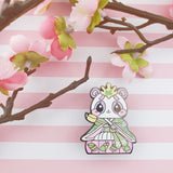 Lady Panda: Girl's Day Animal Enamel Pins - Kittynaut