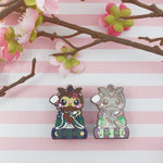 Helper Owl: Girl's Day Animal Enamel Pins - Kittynaut