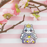 Lady Kitsune: Girl's Day Animal Enamel Pins