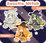 Sweetie Witch - Hard Enamel Pin - Kittynaut