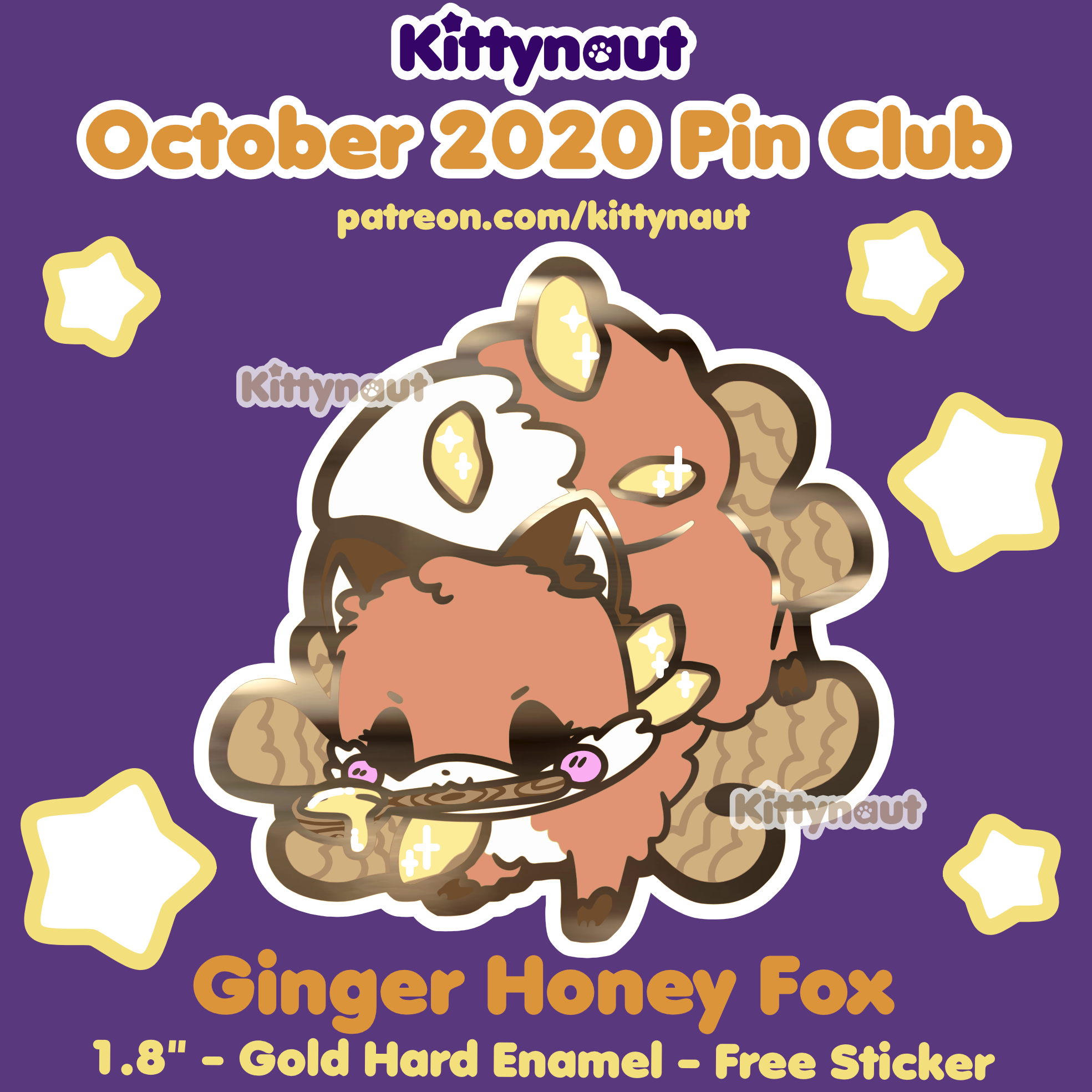 Secret Shop - Oct 2020 - Ginger Honey Fox