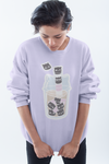 Boba Kitty aka Bubble Kittea - Sweatshirt - Kittynaut