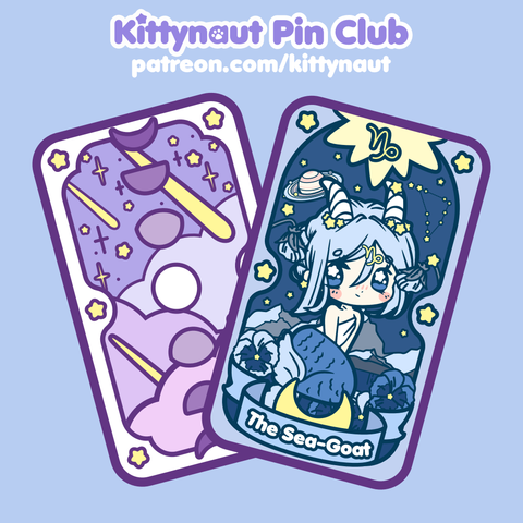 Secret Shop - Tarot Card - Capricorn Magical Girl