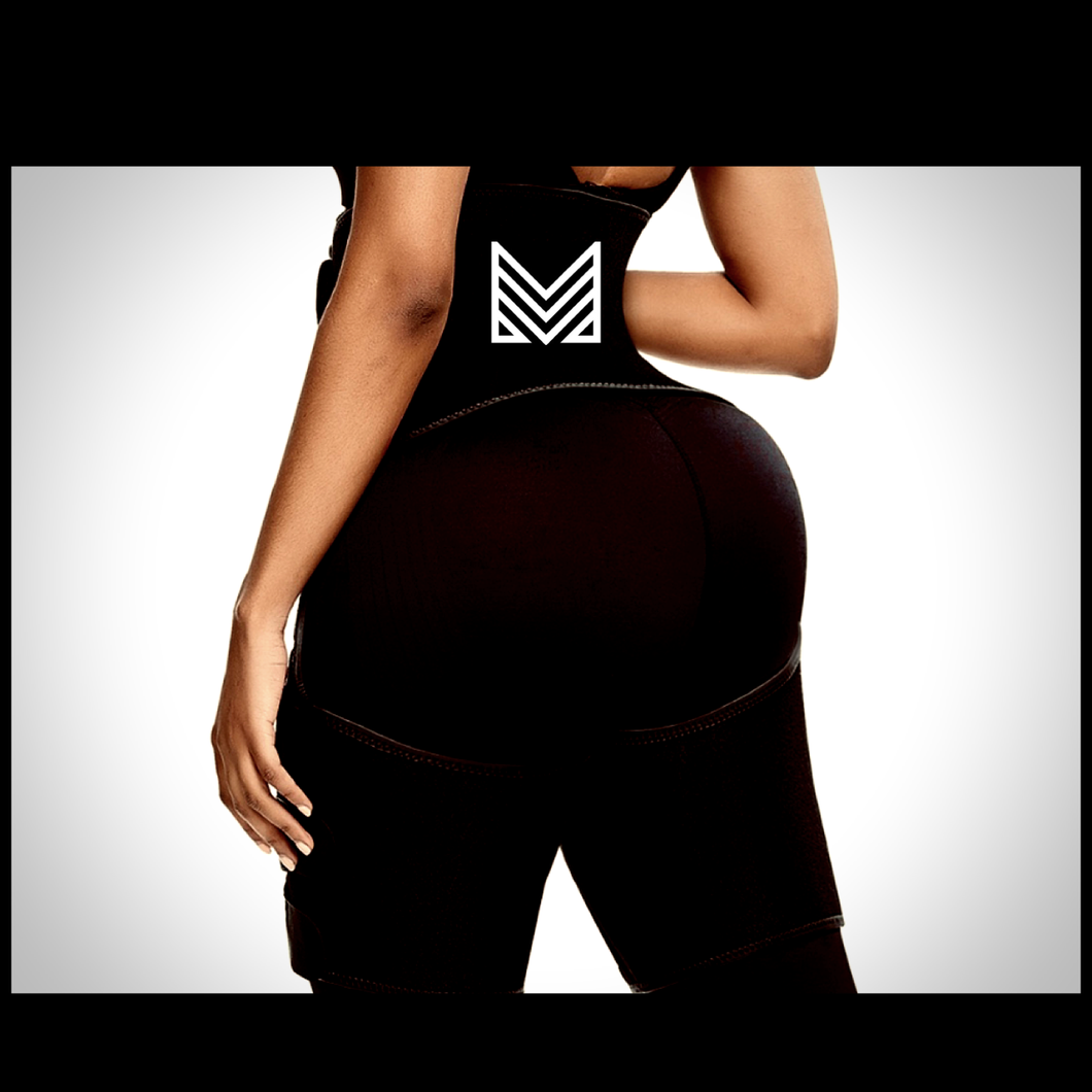 MMM Booty Booster | Thigh & Waist Trimmer (2XL/3XL) | Pre-Order Only