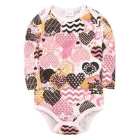 2020 Spring New Baby Bodysuit Long Sleeve 100%Cotton Infant Toddler Clothes Jumpsuit Child Pyjamas Baby Body Ropa bebe