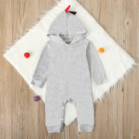 Baby Clothes Hooded Dinosaur Jumpsuit ropa bebe bebek tulum Newborn Infant Baby Boy Girls Onesie Romper Jumpsuit Outfits
