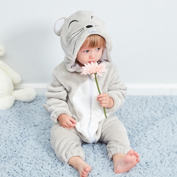Baby Girl Clothes Rabbit Animal Baby Rompers Costume New born Bebe Clothing Panda onesie Toddler Pajamas Winter Boys Jumpsuit