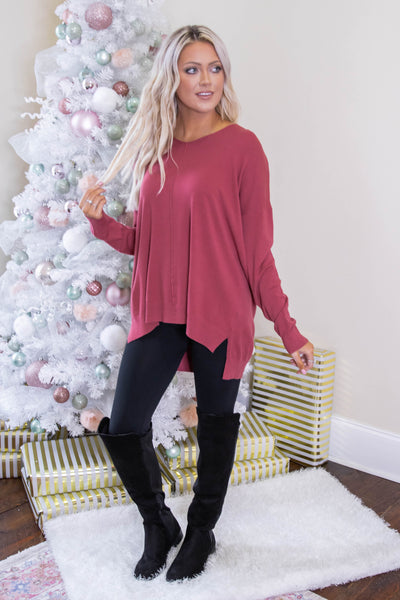 Luxuriously Soft Sweater- Spice Sweater Feels Like Butter- $34