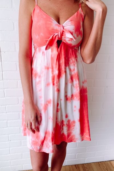 Tie Dye Dress- Beach dress- $38