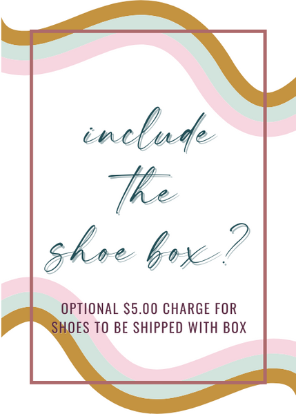 Include Your Shoe Box