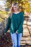 Simple Rust Cardigan- Ultra Soft Butter Cardigan- $36- Juliana's Boutique