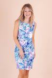 Fun Bright Dress- Floral Summer Dress- $45- Juliana's Boutique