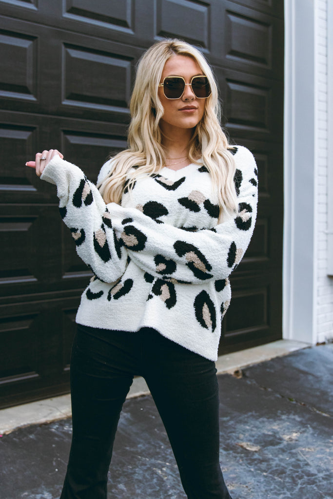 Dreaming Of Tomorrow Sweater-Ivory