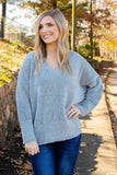The Right Outlook Sweater-Sage