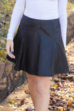 Feel The Thunder Faux Leather Skirt