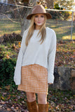Cute Off The Shoulder Top- Striped Top- Pom Pom Blouse- $36- Juliana's Boutique