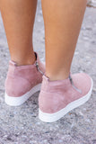 Hailey Sneaker Wedges