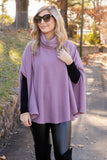 Chic Lavender Cape- Women's Purple Poncho- $34- Affordable Online Women's Clothing