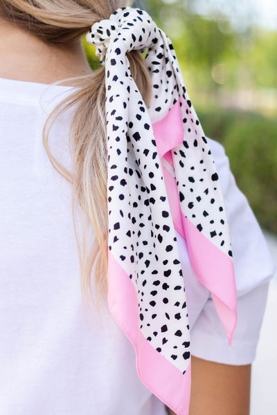 Women's Hair Scrunchie Scarf- Cute Hair Scrunchies- $12