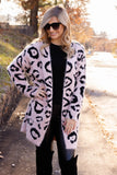 Can't Be Tamed Leopard Cardigan