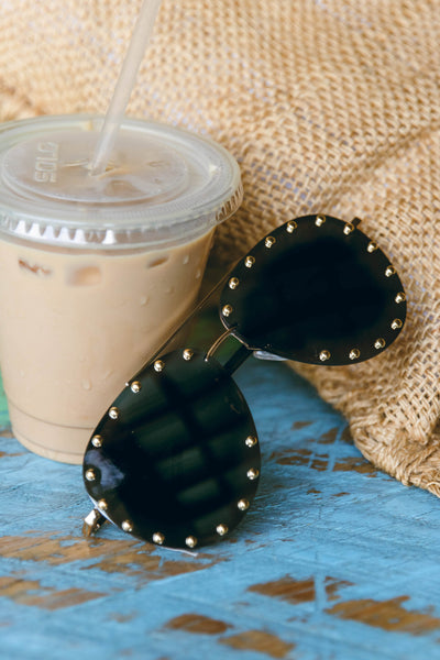 Be Like That Aviator Sunglasses-Gold