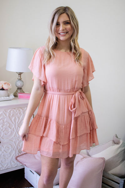 Perfectly Peachy Dress
