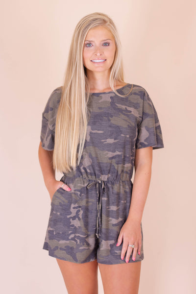 On The Hunt Romper