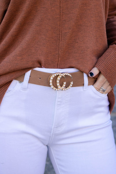 Pearls And Curls Belt