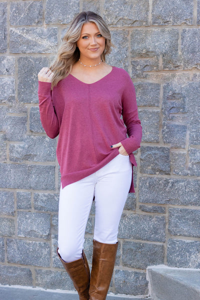 Luxuriously Soft Sweater- Pink Sweater Feels Like Butter- $38
