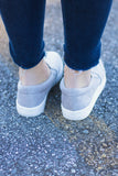 Erin Suede Slip On Sneakers