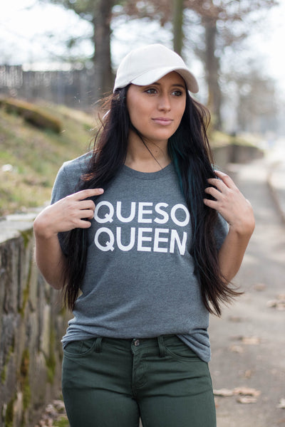 Queso Queen T-Shirt- Cute Queso Queen Graphic Tee- $28- Juliana's Boutique