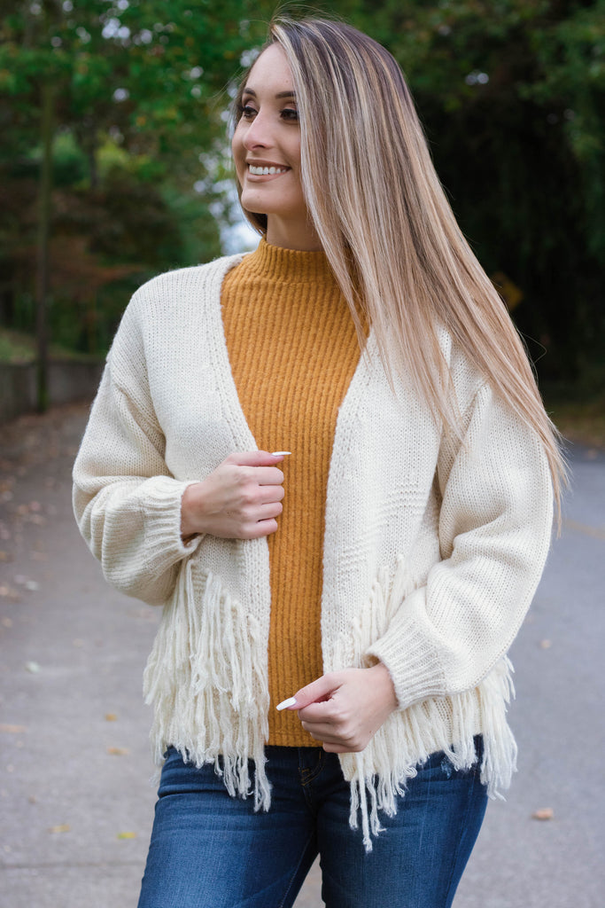 Colorado Mountain Tops Cardigan