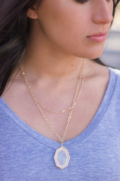 Gold Layered Necklace- Gold Chain Necklace- $15- Affordable Online Boutique