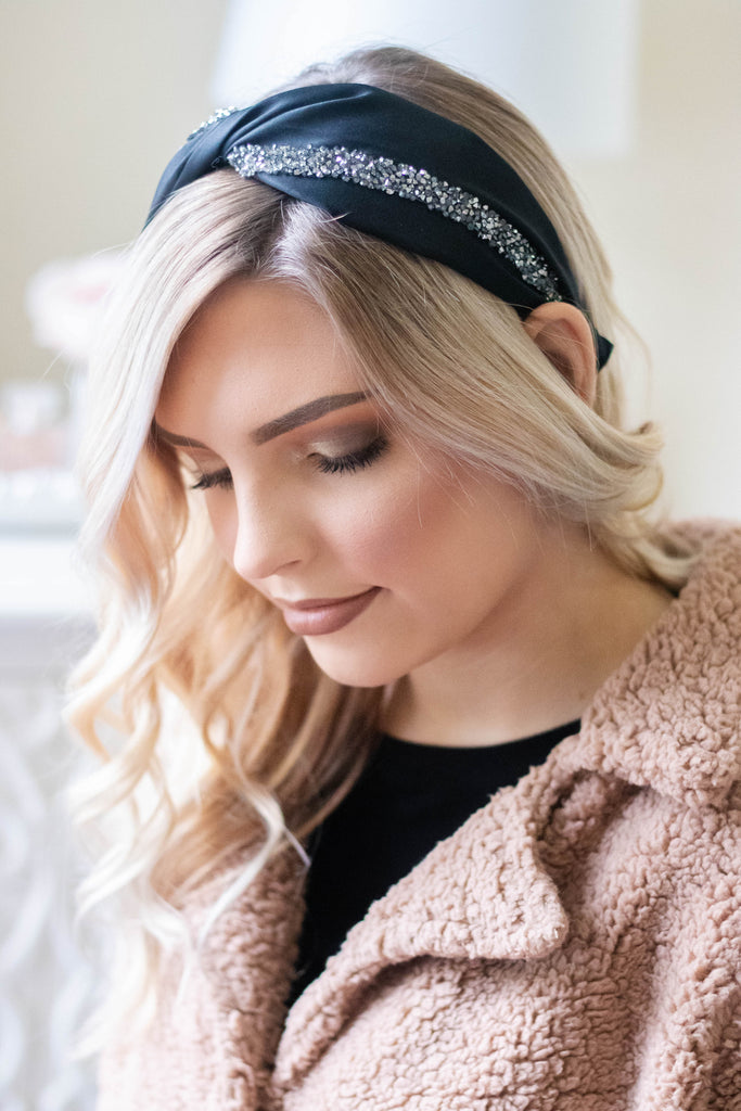 Women's Headbands- Cute Black Headband- $14