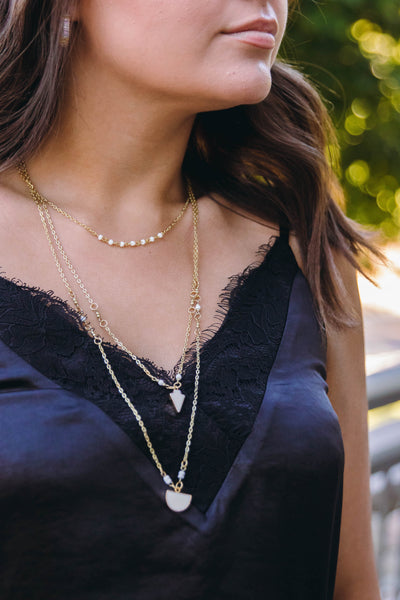 A Simple Touch Layered Necklace