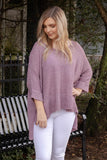 Write You A Song Knit Sweater-Lavender