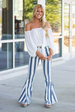 White Off The Shoulder Top- Cute Boho Style Blouse- White Strapless Top- $38